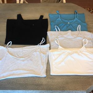 Lot of 5 Camisoles